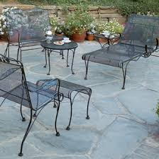 Iron Table And Chairs Patio Wrought Iron Patio Furniture Patio Furniture Family Leisure