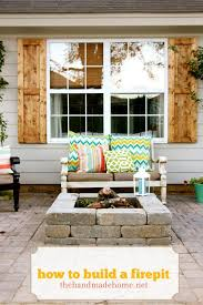 Make Your Own Patio Pavers How To Make Your Own Pit And Patio With Pavers New Deck