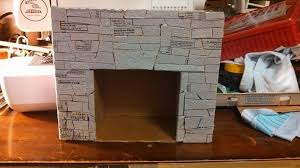 how to make a fireplace out of cardboard fireplace designs