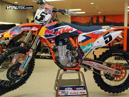 2015 ktm motocross bikes new ktm sx factory team gfx and 2014 450 sx f factory edition