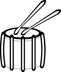 taiko drums clipart 9