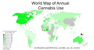 Colorado Weed Maps by Tabulating The Underground Economy And The Dea U0027s Pathetic Attempt