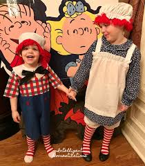 Raggedy Ann Costume Raggedy Ann And Andy Costumes For Kids Intelligent Domestications
