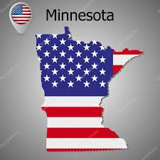 Minnesota State Flag A Map Of The State Flags Of The Us Maps Pinterest Nice Animation