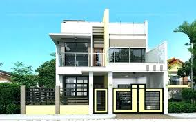 narrow lot houses rooftop deck house plans homes for small lots stunning design ideas