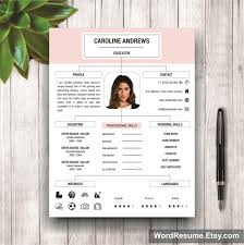 Portfolio For Resume Resume Template Cover Letter And Portfolio For Ms Word