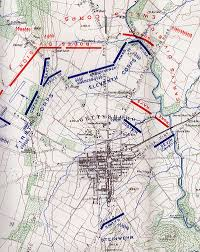 Gettysburg Map 154th New York At The Battle Of Gettysburg