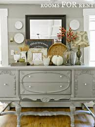 gorgeous buffet makeover staged for fall from rooms for rent