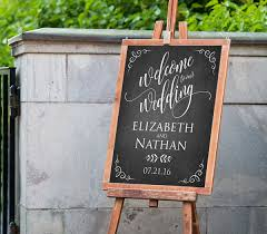 wedding signs template printable wedding welcome sign template rustic chalkboard