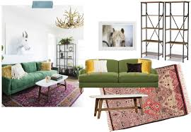 fall room inspiration green sofa defined designs