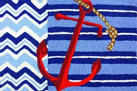 jelly bean indoor outdoor rugs nautical rugs for decorating home with beach theme