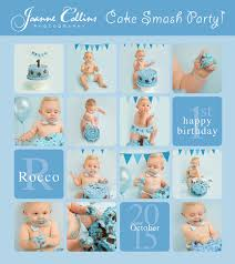 boys cake smash photography sittingbourne 1 year old rocco