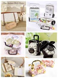 Suitcase Favors by Let The Adventures Begin Travel Themed Ideas
