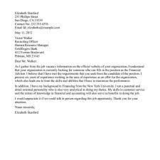 financial trainee cover letter neurology nurse practitioner sample