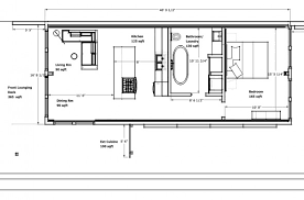 green plans cargo container home plans intermodal shipping floor below are