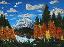 Colorado landscapes images Colorado landscape painting by vincnt clark jpg