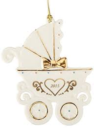 lenox 2015 baby s 1st carriage ornament