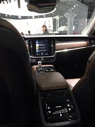 volvo sweden website why does the volvo s90 t8 have the same center console as the xc90