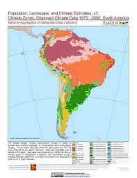 South America Rivers Map by Map Gallery Sedac