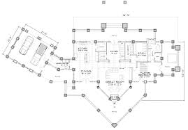 cedar falls log home floor plan