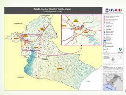 sukkur map pakistan sindh sukkur health facilities map september 2014