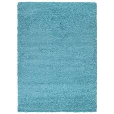 Blue Fuzzy Rug 8 X 10 Blue Area Rugs Rugs The Home Depot