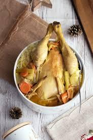 cuisiner poule recette poule au pot cuisine