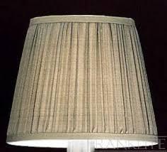 franklite dark beige pleated silk shade 1086 franklite