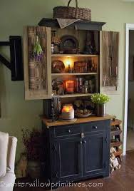 best 25 primitive hutch ideas on pinterest country hutch