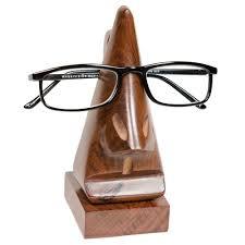 Fair Trade Home Decor Amazon Com Handmade Wood Eyeglass Holder Fair Trade Home U0026 Kitchen