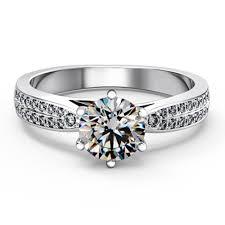 brilliant engagement rings images Genuine silver 925 1 5ct star brilliant diamond engagement rings jpg