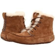 womens ugg boots with laces ugg chickaree chestnut suede s lace up boots ugg a