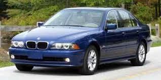 bmw 5 series mileage used 2003 bmw 5 series sedan 4d 525i mileage options nadaguides