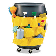 brute caddy bag by rubbermaid commercial rcp264200yw