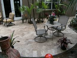 Travertine Patio Travertine Instalation Photo Examples