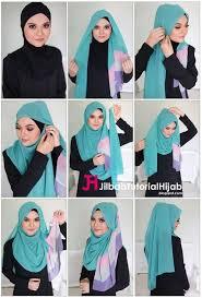 tutorial turban sederhana kumpulan gambar tutorial cara memakai hijab gang sederhana