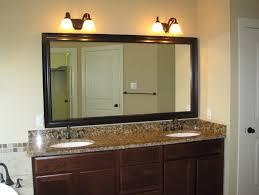 Bathroom Vanity And Mirror Rubbed Bronze Mirror Bathroom Vanity Home Design Ideas