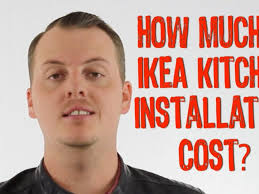 Cost New Kitchen Cabinets Kitchen 3 Ikea Kitchen Cabinet Beauteous Cost To Install New