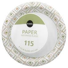 paper plates paper plates cups utensils and tableware publix