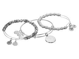 november birthstone alex and ani alex and ani snowflake holiday gift set in metallic lyst
