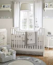 Curtain Tips by White Drum Pendant Lamp And White Wooden Crib With Sheer Curtain