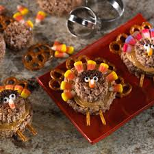 pretzel tailed turkey treats rice krispies