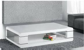 armen living coffee table armen living lc802dcowh modern coffee table in white lacquer fss