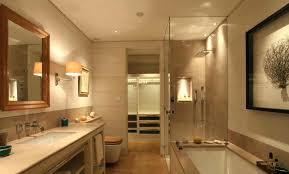 bathroom lighting zones 1 2 3 above mirror wall strip light up and