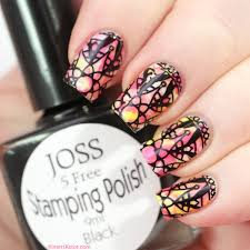 what about stamping in black kimett kolor