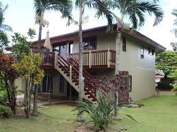 2 Stories House by Very Beautifully Renovated 2 Story House In Princeville Kauai