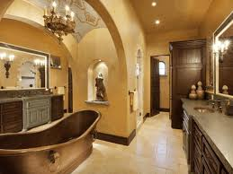 modern traditional bathroom ideas yellow stained wall white