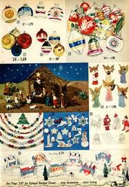 ornaments in montgomery ward catalog 1968 by