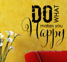do what makes you happy wall decals stickers inspiring wall letters do what makes you happy inspirational wall decal quote loading zoom