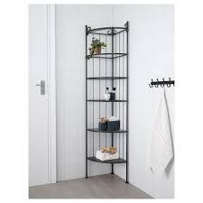 Glass Corner Shelves For Bathroom by